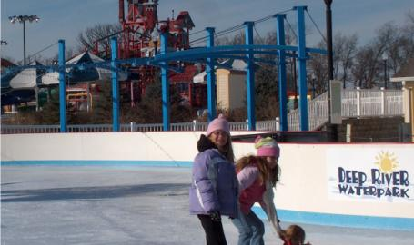 Lake County Parks Outdoors Deep River Waterpark Ice Skating