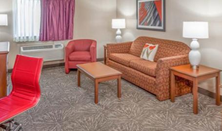 Ramada Hotel Hammond Sitting Area