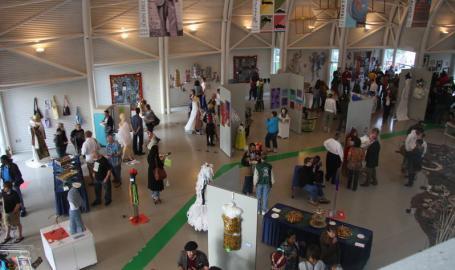WF Wellman Exhibit Hall Indiana Welcome Center Hammond