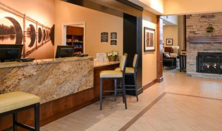 Staybridge Suites Merrillville Hotel lobby
