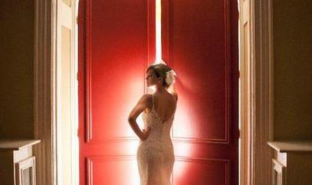 UC Bride with Red Door