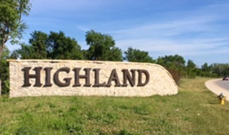 Highland sign