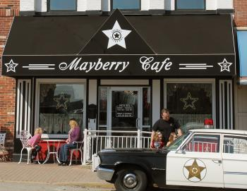 Mayberry Cafe exterior