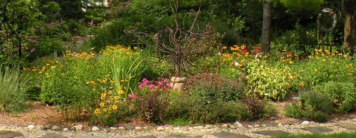 Womanspace Garden in Rockford IL
