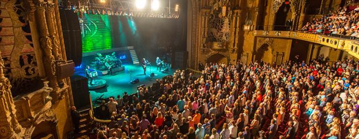 Concert at Coronado Theatre in Rockford IL