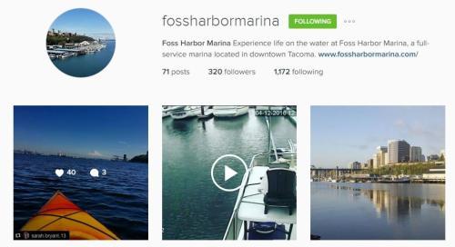 Foss Harbor Marina Instagram