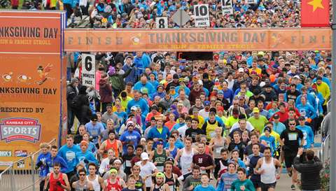 Thanksgiving Day 5K Run & Family Stroll