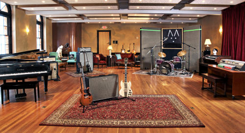 Recording area of Echo Mountain Recording