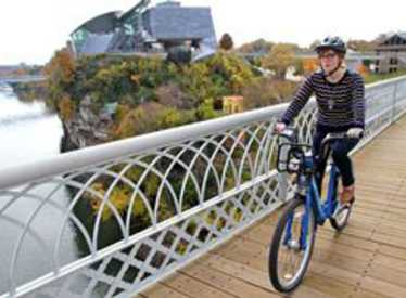 Bike Chattanooga and see Chattanooga's Riverfront