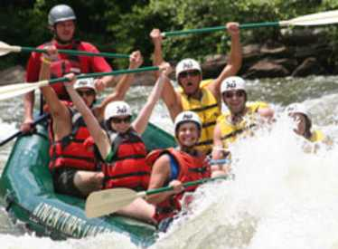 Rafting with Adventures Unlimited