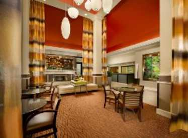 Lobby at Hilton Garden Inn/Hamilton Place