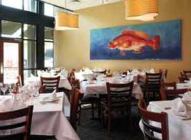 Private dining room at Bluewater Grille