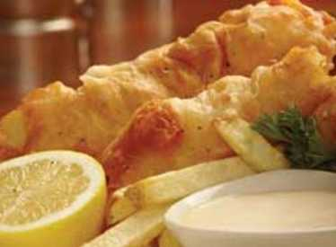 Fish and Chips at Bluewater Grille