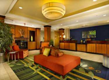 Lobby at Fairfield Inn & Suites/Lookout Mountain