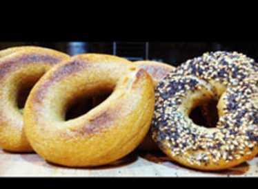 Bagels at Niedlov's Breadworks