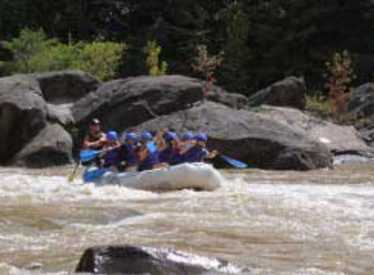 Rafting on the Ocoee with Cherokee Rafting