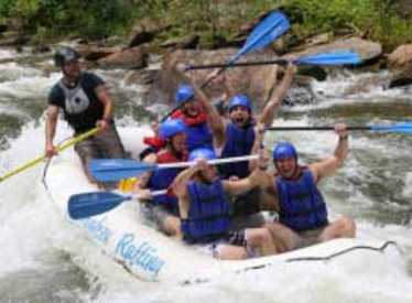 Rafting with Cherokee Rafting