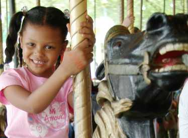 Carousel at Lake Winnie