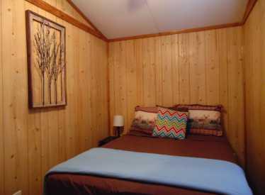 Cabin 1 Main Bedroom