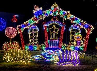 Rock Cityu0027s Enchanted Garden Of Lights