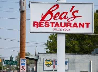 Bea's restaurant