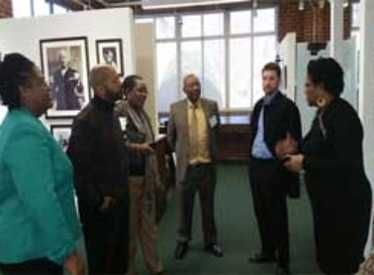 Meeting at Bessie Smith Cultural Center