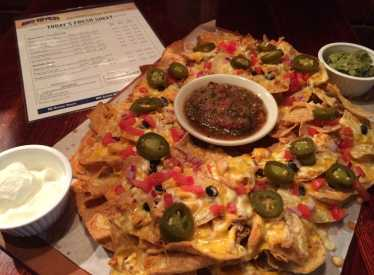 Big River Grille Nachos