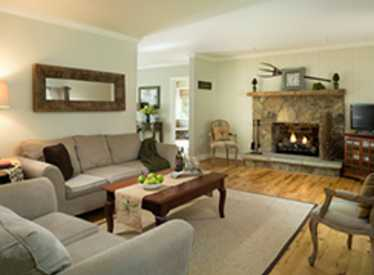 Chanticleer Cottage Living Room
