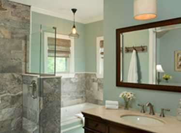 Chanticleer Cottage Master Bath
