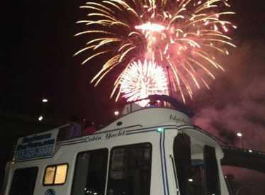 Enjoying the Fireworks!