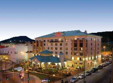 Hilton Garden Inn/Downtown nighttime