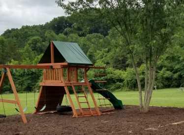 New Playground Set