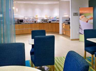 Springhill Suites/Ooltewah breakfast area