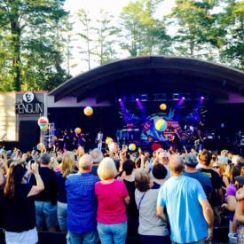 Greenfield Lake Amphitheater - Michael Franti concert