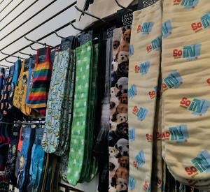 Regalo socks display