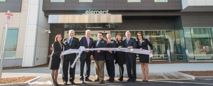 Element Ribbon cuttin