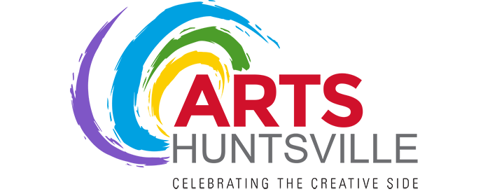 This is a picture of paint swirls as used in the Arts Huntsville logo.
