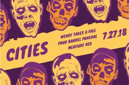 Wendy Takes A Fall/Four Barrel Funeral/Mercury Red