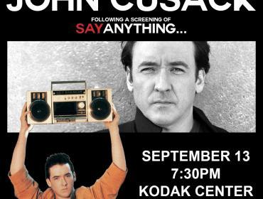 John Cusack following a screening of Say Anything