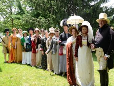 War of 1812 and Jane Austen Weekend