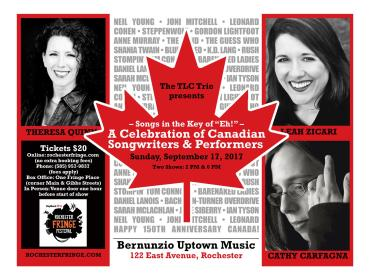 Songs In The Key of Eh! - A Celebration of Canadian Songwriters & Performers