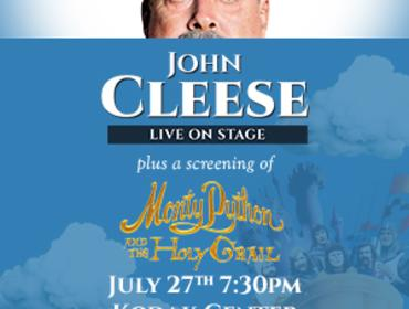 John Cleese Live On Stage after a screening of Monty Python and the Holy Grail