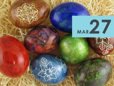 Alcohol Ink Eggs