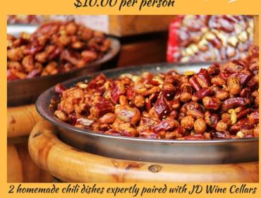 8th Annual Chili and Wine Tasting Event