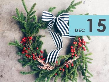 DIY Winter Wreaths with Flowerwell