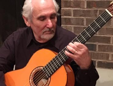 Live Music at Via Girasole Wine Bar with  David Tamarin, Flamenco & Classical Guitarist