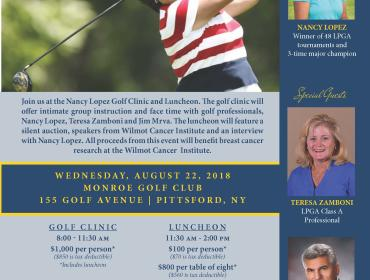 Nancy Lopez Golf Clinic and Luncheon