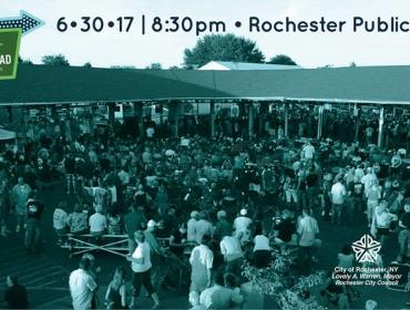 Flicks on the Bricks Screening at the Rochester Public Market