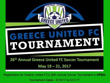 Greece United FC's 26th Annual Soccer Tournament