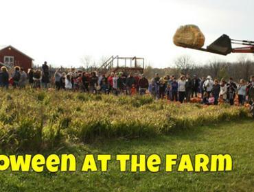 Halloween at the Farm & Giant Pumpkin Drop